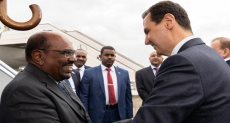 جانب من زيارة البشير لسوريا