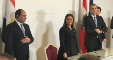 الرئيس السيسى يشهد توقيع مذكرة تعاون بين مصر والنمسا