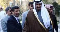 حمد بن خليفة امير قطر السابق