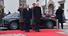الرئيس السيسى ونظيره النمساوى