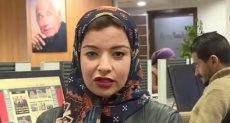 الزميلة الصحفية آية دعبس
