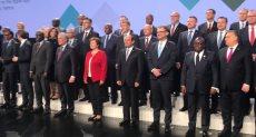 الرئيس السيسى يلتقط صور تذكارية مع الزعماء فى منتدي اوروبا افريقيا