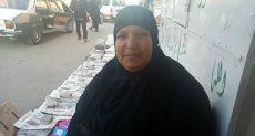 نادية صابر بائعة صحف