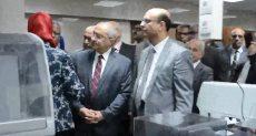 افتتاح مجمع معامل مركزية بجامعة أسيوط