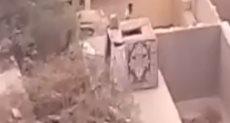 برج لتربية الحمام على مقابر السيدة زينب