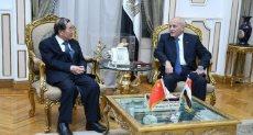 الدكتور محمد العصار يستقبل سفير الصين