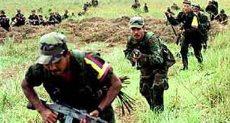 عناصر من جيش كولومبيا