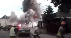 انفجار خط غاز بولاية ويسكونسن