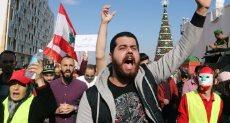حتجاجات فى لبنان
