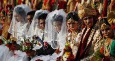 حفل زفاف جماعى فى الهند