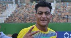 مصطفى محمد لاعب فريق الزمالك و المعار إلى طلائع الجيش