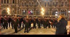 احتفالات الحرس الوطني الروسي بأعياد الميلاد