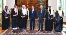 السيسي يستقبل عبد الله بن محمد آل شيخ رئيس مجلس الشورى السعودي