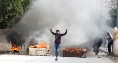 الاشتباكات فى تونس