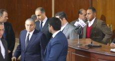 مبارك فى المحكمة