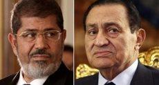 مبارك. محمد مرسي.