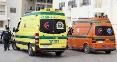 الصحة تدفع بـ 12 سيارة إسعاف لنقل وفيات مصابي حادث مروري بالبحيرة