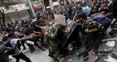 اشتباكات واعتقالات فى تشيلى