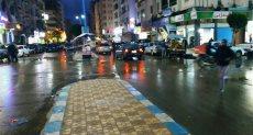 أمطار على الإسكندرية