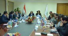 اجتماع ممثلي وزارتي التخطيط والاتصالات
