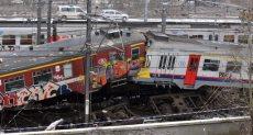 تصادم قطارات - أرشيفية