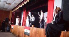 """محافظ أسيوط يشهد احتفالية """"معاً فى سلام"""" بالكنيسة الكاثوليكية"""