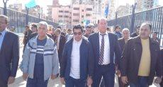 جانب من جولة الدكتور أشرف صبحى وزير الشباب والرياضة