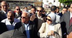 وزيرة الصحة فى جولة تفقدية بمحافظة بورسعيد