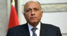 سامح شكرى وزير الخارجية المصرى
