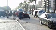 التوك توك بشارع الهرم وميدان الجيزة