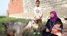 رضاعة الأطفال من الماعز