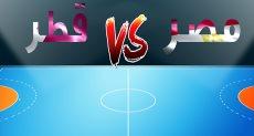 مباراة مصر وقطر فى كأس العالم لليد