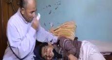 طفل يعانى من مرض نادر