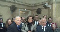جانب من تفقد وزيرا العدل والتخطيط لمحكمة القاهرة الجديدة
