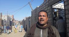 محمد عبد الرحيم أحد أهالى قرية
