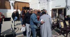 جنازة الفنان سعيد عبد الغنى