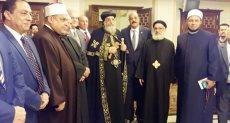 البابا تواضروس يتلقى التهنئة بعيد الغطاس فى الإسكندرية