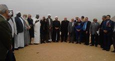 ضيوف مؤتمر الشئون الإسلامية فى الهرم