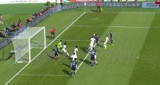 الهدف الأول لمنتخب اليابان ضد السعودية