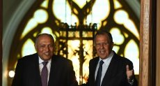 وزيرا خارجية مصر وروسيا