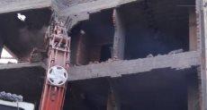 إزالة العقارات المخالفة بحرم الأهرامات