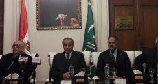 جانب من لقاء قيادات حزب الوفد بوزير التموين
