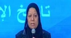 والدة الشهيد محمود مجدى باحتفال الشرطة