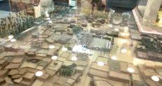ماكيت مجسم يوضح كيف كان شكل بيت النبى وزوجاته