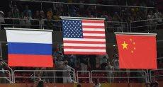 أمريكا وروسيا والصين