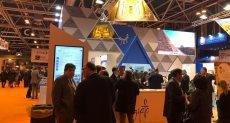 """رئيس """"تنشيط السياحة"""" يفتتح جناح مصر بمعرض FITURE الدولى بإسبانيا"""