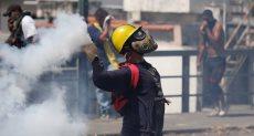 جانب من العنف فى فنزويلا