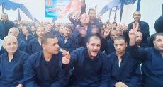 """سجين يهتف """"تحيا مصر"""""""