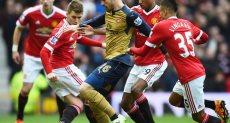 أرسنال ضد مانشستر يونايتد