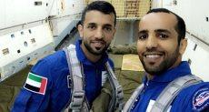 هزاع المنصورى وسلطان النيادى أول رائدى فضاء فى الإمارات